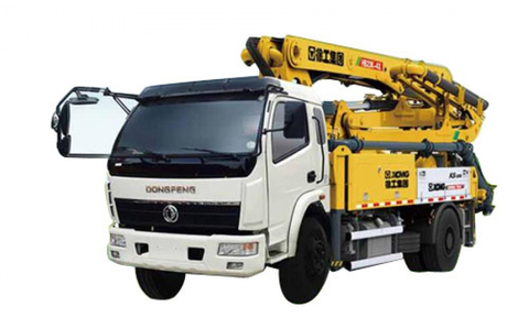HB56K XCMG Truck Mounted Concrete Pump